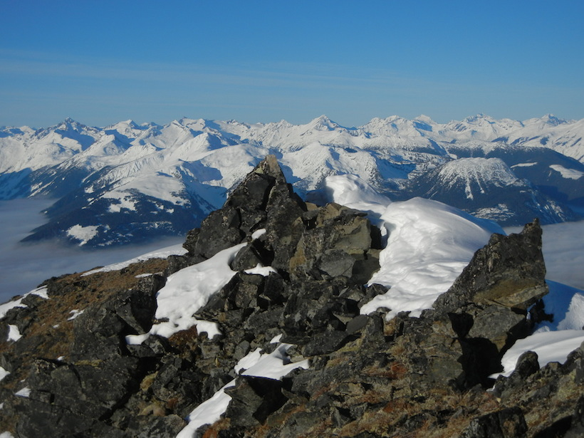 Top of the world mountain goat hunting