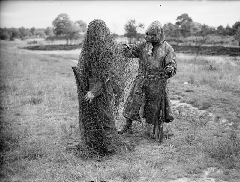 2 Lovat scout ghillie suits WWII