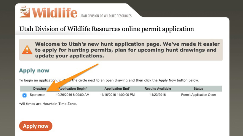 Apply now for the 2017 utah sportsman permits gohunt for Utah non resident fishing license