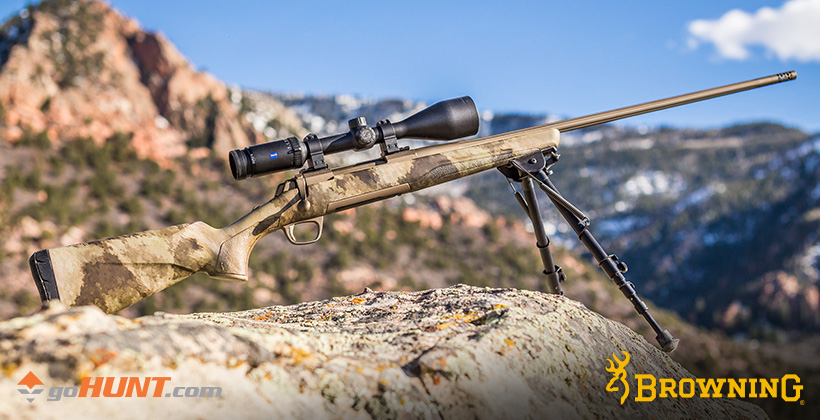 Browning X-Bolt SPEED rifle giveaway