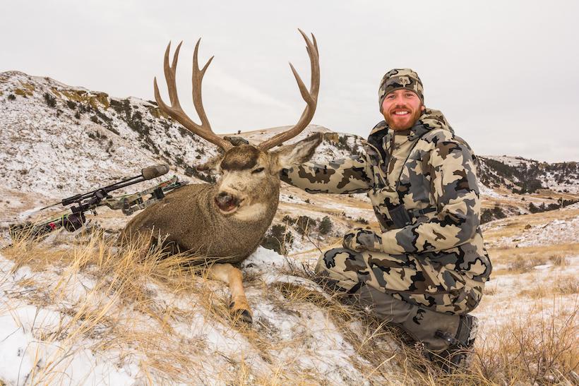 Brady with buck