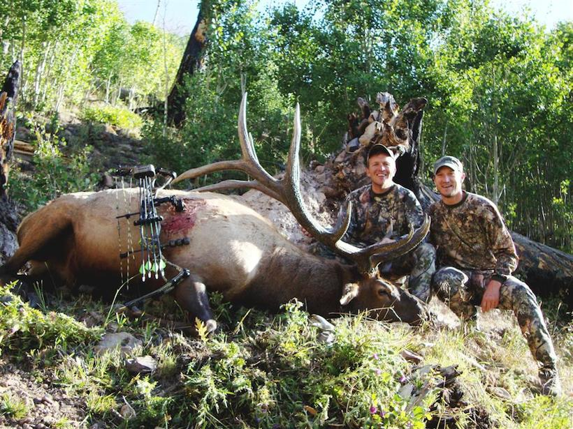 Todd with his 2009 archery bull