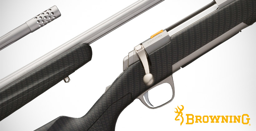 December Browning X-Bolt Long Range Hunter rifle giveaway