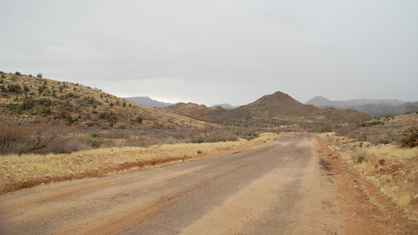 Desert hunting habitat