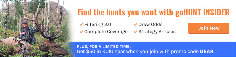 Find the hunts you want with goHUNT INSIDER promo code gear