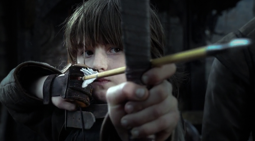Bran getting outshot by his sister