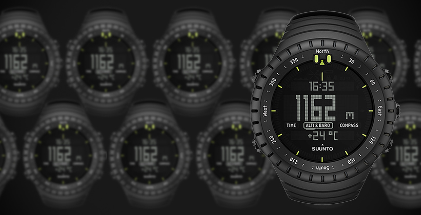 September INSIDER Giveaway - Suunto Core Black Watches