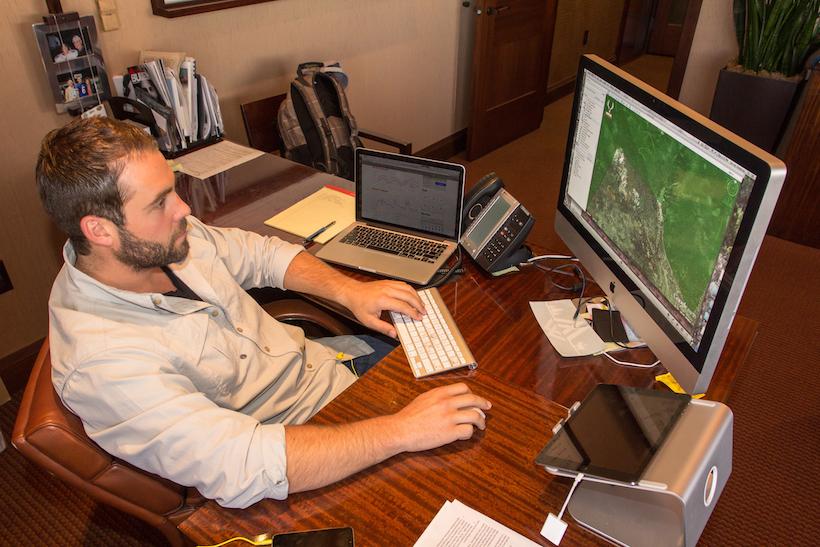 Lorenzo Google Earth scouting