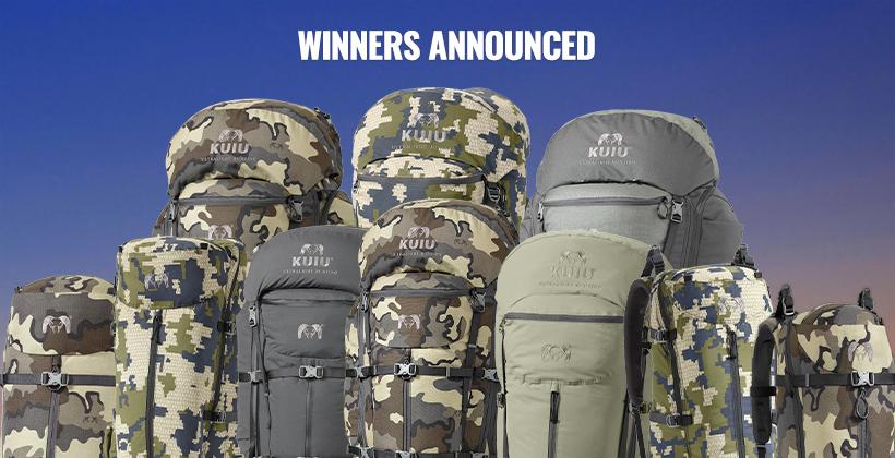 November INSIDER KUIU backpack winners