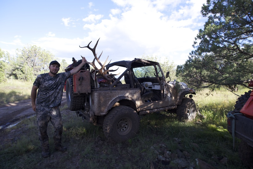 Made it back to the Jeep with the entire elk