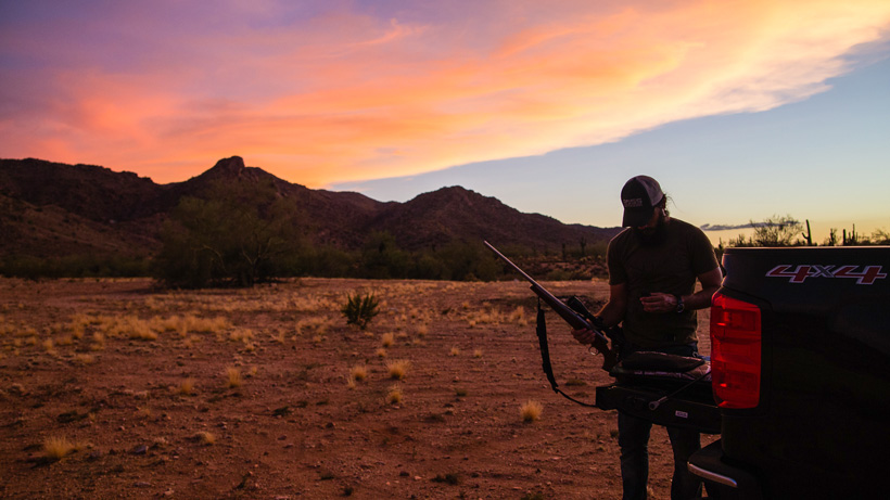 Preparing for long range rifle shooting