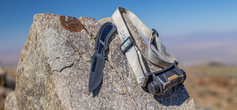 Browning Headlamp and Knife Giveaway