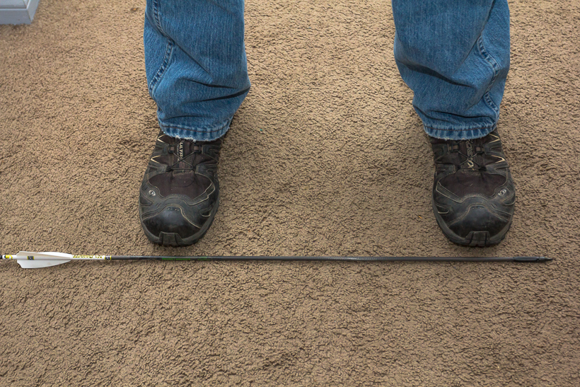 Square archery stance
