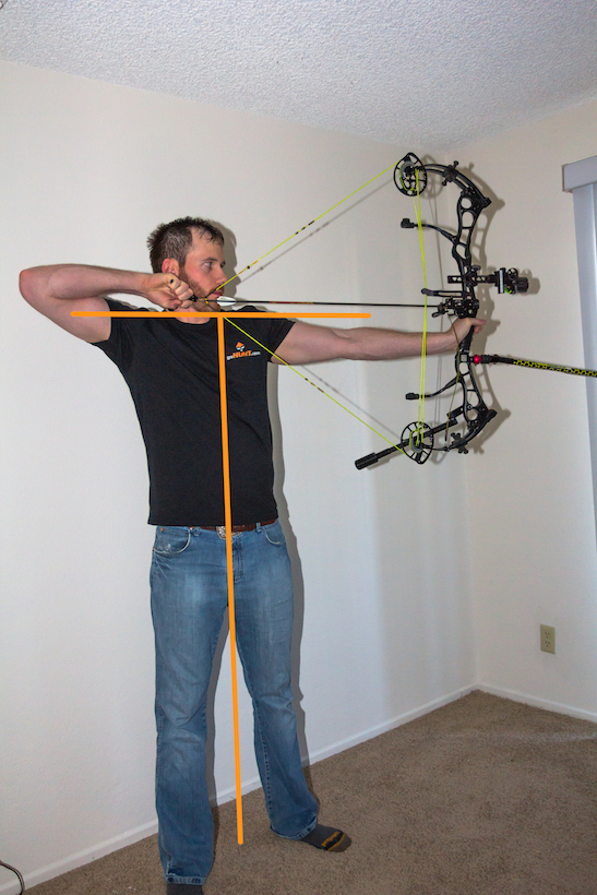 how to properly hold and shoot a compound bow