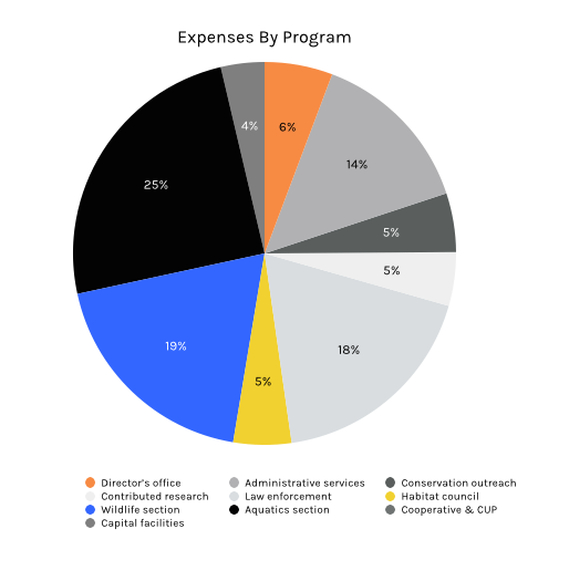 Expenses by Program