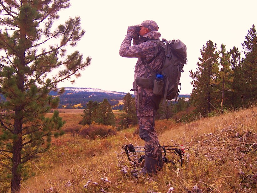Looking over Montana elk hunting country