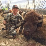 Bowhunting for bison in the Sonoran desert