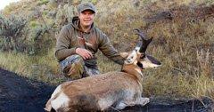 Backup antelope landowner tag pays off big time