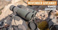 4 people just won a Vortex Razor HD binocular setup